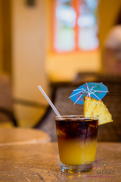 Mai Tai at Travaasa Hāna's Paniolo Lounge. © 2015 Sugar + Shake