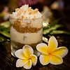 Banana and mac nut parfait. #MalamaMaui media dinner at Travaasa Hāna's Ka'uiki Restaurant. © 2015 Sugar + Shake