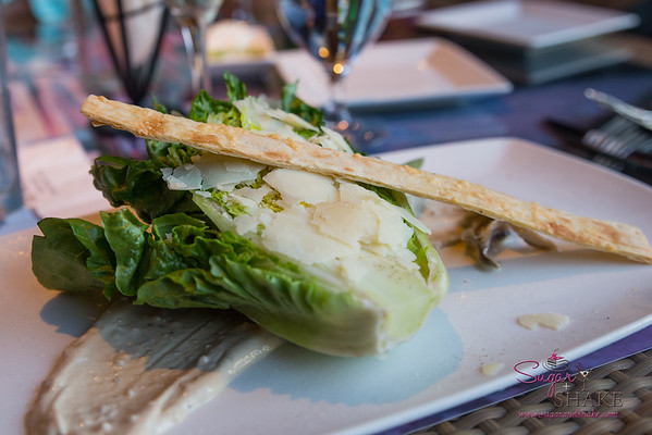 Caesar wedge salad. Pulehu at the Westin Maui. © 2015 Sugar + Shake