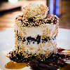 The signature dessert: RELISH Fudge Pie (macadamia nut ice cream layered with Oreo cookie crumbs). Westin Maui's Relish Oceanside. © 2015 Sugar + Shake