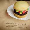 Short N Sweet Bakery's Cupcake Hamburger. © 2012 Sugar + Shake
