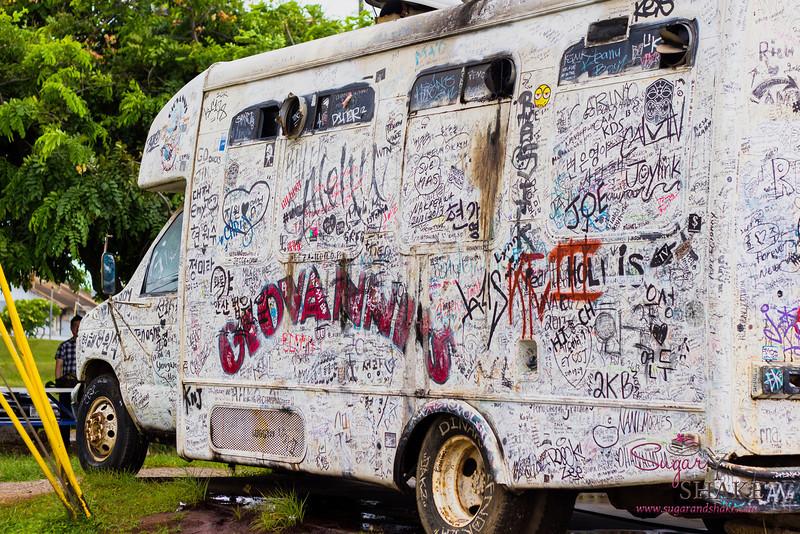 Giovanni's Original White Shrimp Truck. © 2013 Sugar + Shake