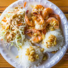 Big Wave Shrimp shrimp plate. © 2013 Sugar + Shake