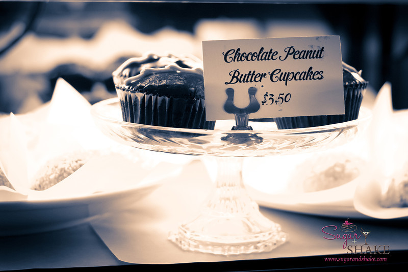 But you didn't think we'd go to Leoda's and skip dessert, did you? Choices, choices... We could have these Chocolate Peanut Butter Cupcakes... © 2012 Sugar + Shake