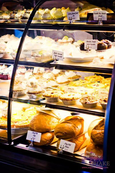 It's a pie shop. This fully justifies selecting your dessert first. © 2012 Sugar + Shake