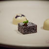 A sage-blackberry gelee and white chocolate. © 2013 Sugar + Shake