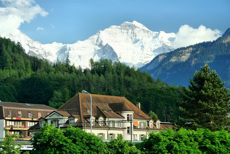 Vista da Montanha Jungfrau