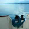 Embarcação no Lago Genebra