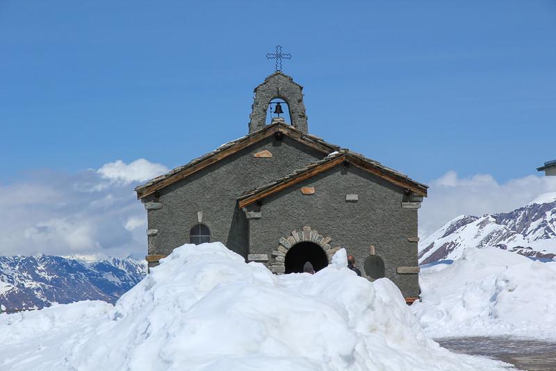 Capela em Gornergrat