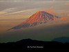Here we have a dream-like photo of Mr. Fuji, shot in the late winter afternoon.