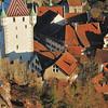 Baden - Les toits et la tour de la Ville