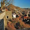 Baden - Vue générale depuis les ruines de la forteresse