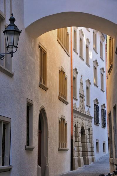 Baden - Entre l'hôtel de ville et l'ancien arsenal
