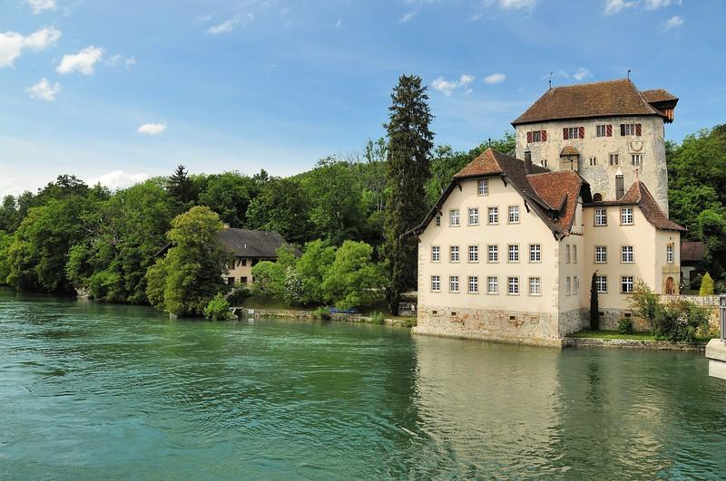Kaiserstuhl - Schloss Roetteln (rive allemande)