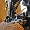 Ballenberg - Machine à coudre pour chapeaux de paille, canton d'Argovie