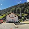 Niederwald, avec le train Matterhorn-Gottard Bahn en gare