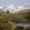 Au lac Noir - Mont Rose et Lyskamm
