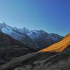 Aiguille de Triolet, mont Dolent, Tour Noir, Grande Lui