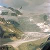 Les Bouquetins et le glacier de Moiry