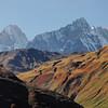 Grandes Jorasses, mont Gruetta, aiguille de Leschaux