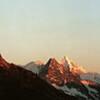 Les Diablons, Blanc de Moming, Besso, Ober Gabelhorn, Cervin, Pointe de Zinal, Dent Blanche