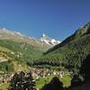 Les Haudères - Tsa de l'Ano (3.367m) , pointes de Mourti (3.563m)  et de Bricola (3.657m), dent Blanche et petite dent de Veisini