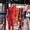 Ouchy - Musée Olympique - Skis et combinaison de Janica Kostelic, Salt Lake City 2002