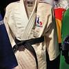 Ouchy - Musée Olympique - Judogi de David Douillet, Sydney 2000