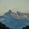 Route vers Aigle - Les Dents du Midi (Valais)