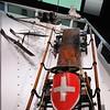 Ouchy - Musée Olympique - Bob à deux de l'équipe suisse, Chamonix 1924