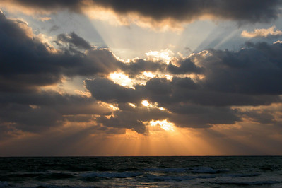 """Sunrise at North Beach"" North Miami, Beach FLorida"
