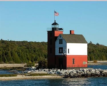 Harbor Lighthouse, Mackinaw Island, Michigan