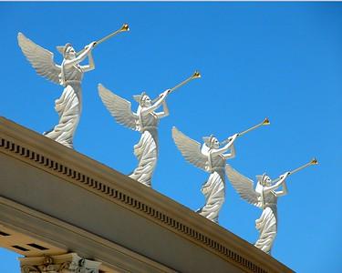 Front of Ceasar's Casino, Las Vegas