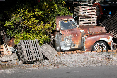 """Old Traps and a Truck"" Taken in Key West, Florida"