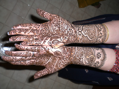 Bhabhi's mehndi (Thursday)