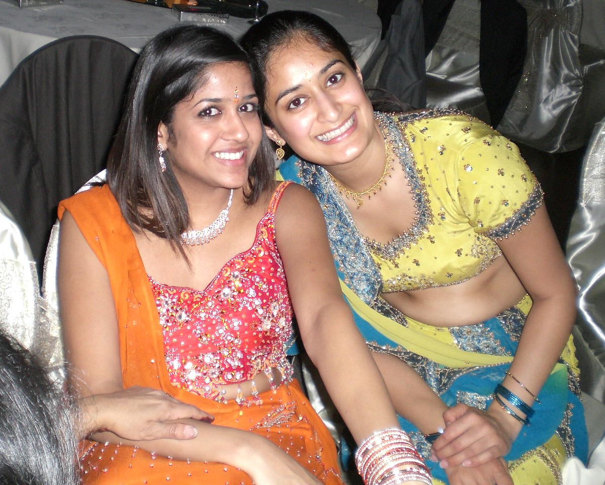 Purvi and Ritu - great pic!