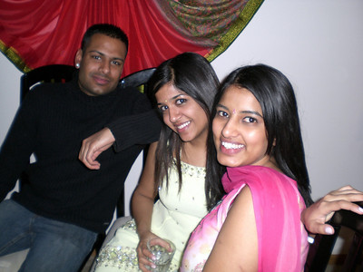 Ankur, Purvi, and Praveena catch up (Thursday)