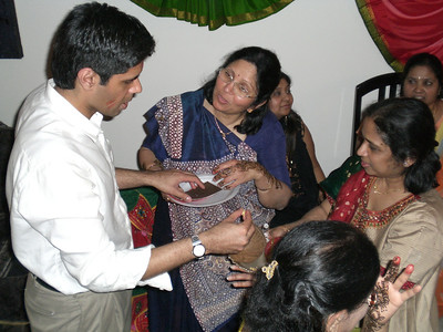 Sujal, Mom, Kokila auntie (Thursday)