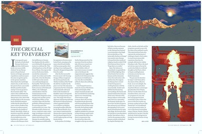 Bill Aitken reviews Everest Reflections on the Solukhumbu for Outlook Traveller September 2019