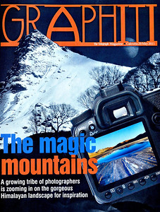 The Telegraph, Calcutta, May 29th 2011 Cover Story on five mountain photographers
