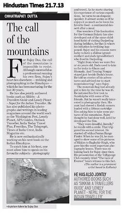Hindustan Times Kolkata Edition July 21st 2013