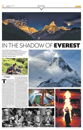 Mint Lounge June 22nd 2019 https://www.livemint.com/mint-lounge/features/in-the-shadow-of-everest-1561106899333.html