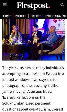 First Post Coverage of our session at Mountain Echoes Literary Festival at Thimpu Bhutan August 22-25 2019 https://www.firstpost.com/living/mountain-echoes-2019-on-day-2-spotlight-on-stories-of-migration-community-and-faith-7221861.html