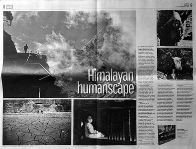 Review of Nepal Himalaya - A Journey Through Time by Kunda Dixit in Nepali Times  -   http://nepalitimes.com/article/Nepali-Times-Buzz/Himalayan-humanscape-sujoy-das-lisa-choegyal-book,3280