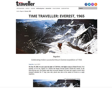 Nine atop Everest 1965