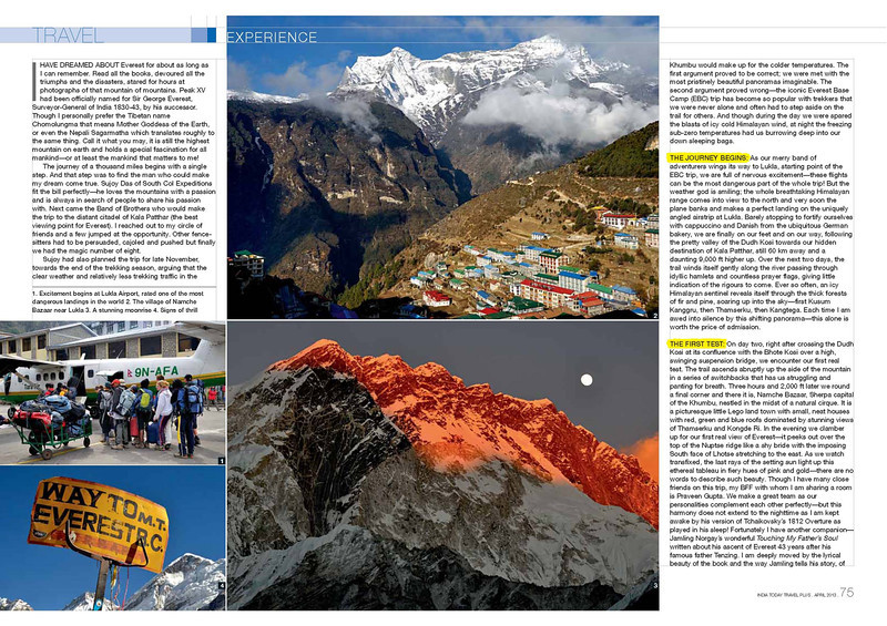 India Today Travel Plus April 2013 page 2