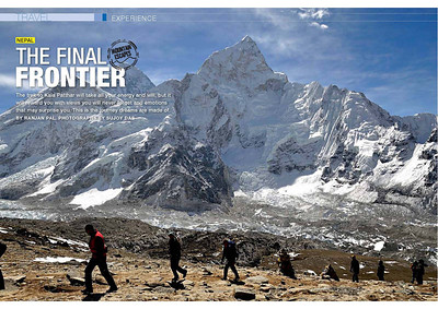 The Final Frontier - India Today Travel Plus April 2013