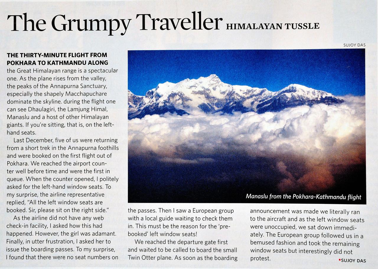"Outlook Traveller August 2012  <a href=""http://travel.outlookindia.com/article.aspx?281866"">http://travel.outlookindia.com/article.aspx?281866</a>"