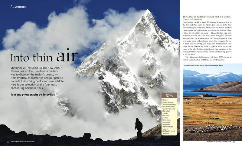 The Lakes of Ladakh - Tso Kar and Tso Moriri