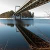 Karisalmen komea silta